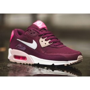 "Кроссовки Nike Air Max 90 Essential ""Burgundy/White/Pink"""
