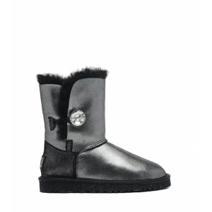 UGG BAILEY BUTTON II BOOT LEATHER I DO
