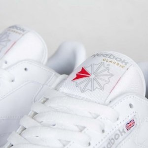 "Кроссовки Reebok Classic Leather ""All White"" Арт. 0142"