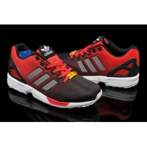 "Кроссовки Adidas ZX Flux ""Black/Red"""