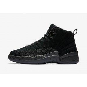 "Кроссовки Nike Air Jordan 12 OVO ""All Black"""