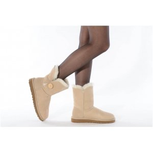"UGG BAILEY BUTTON II BOOT ""SAND"" Арт. 0358"