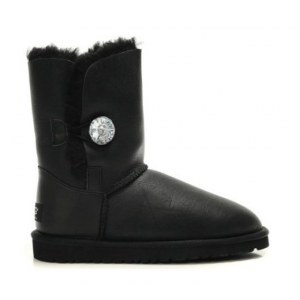 UGG BAILEY BUTTON BOOT LEATHER BLING
